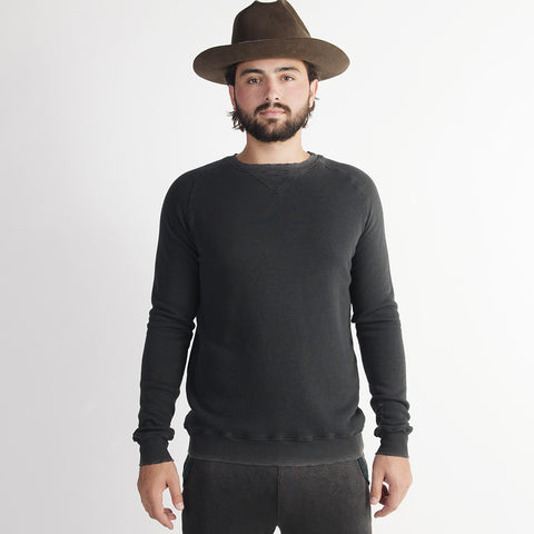 Long Sleeve Raglan Sweatshirt