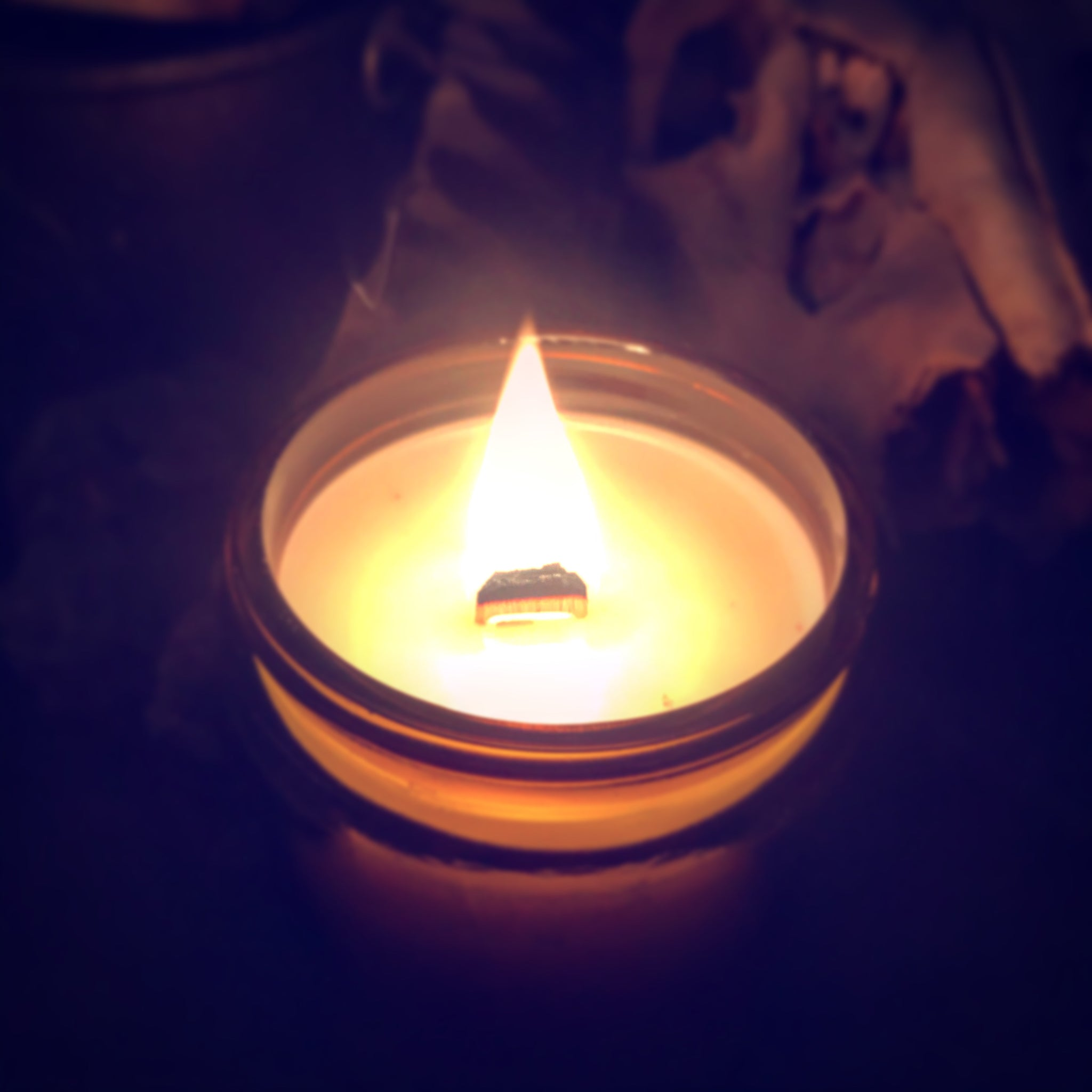 Shrouded Mirror Candle