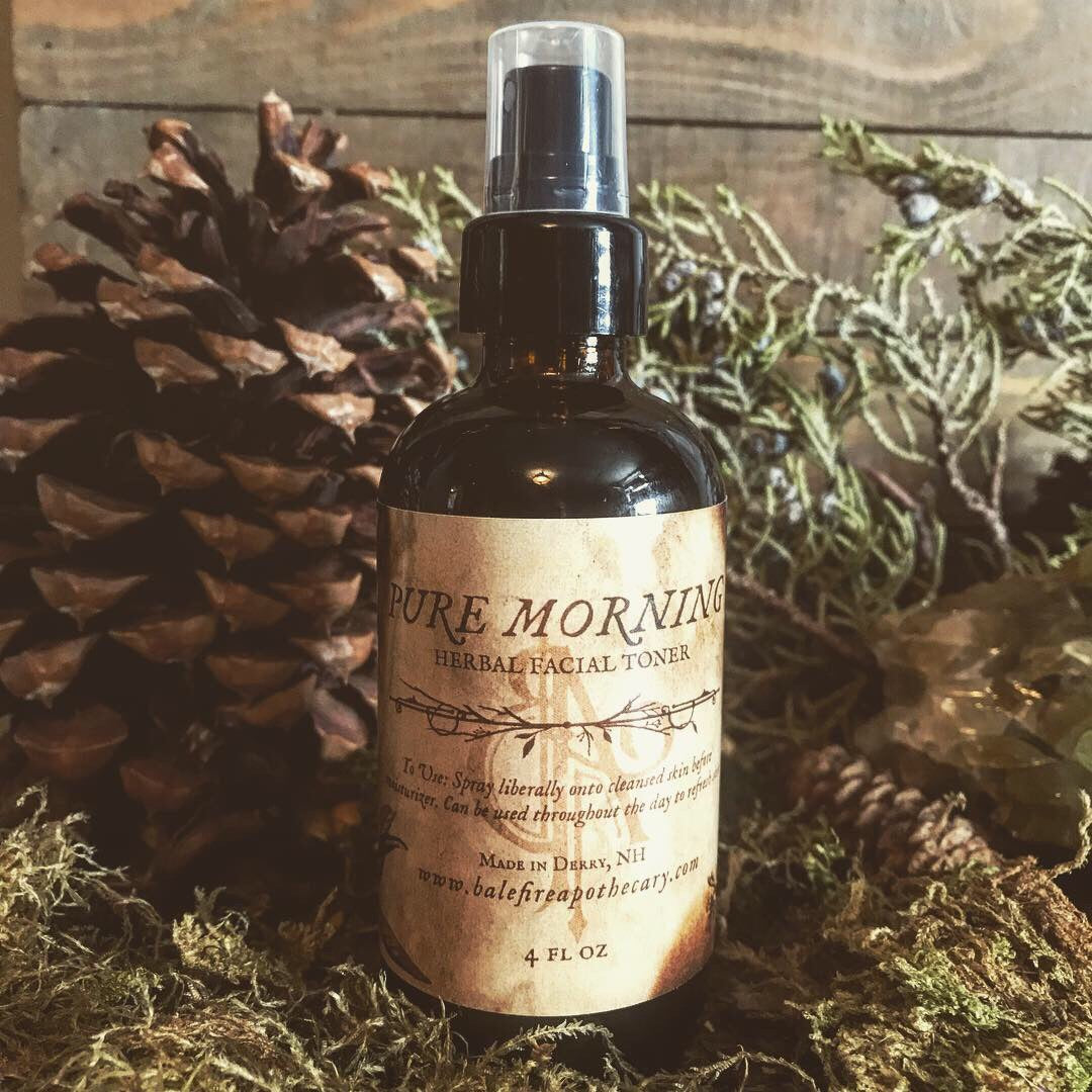 Pure Morning Herbal Facial Toner