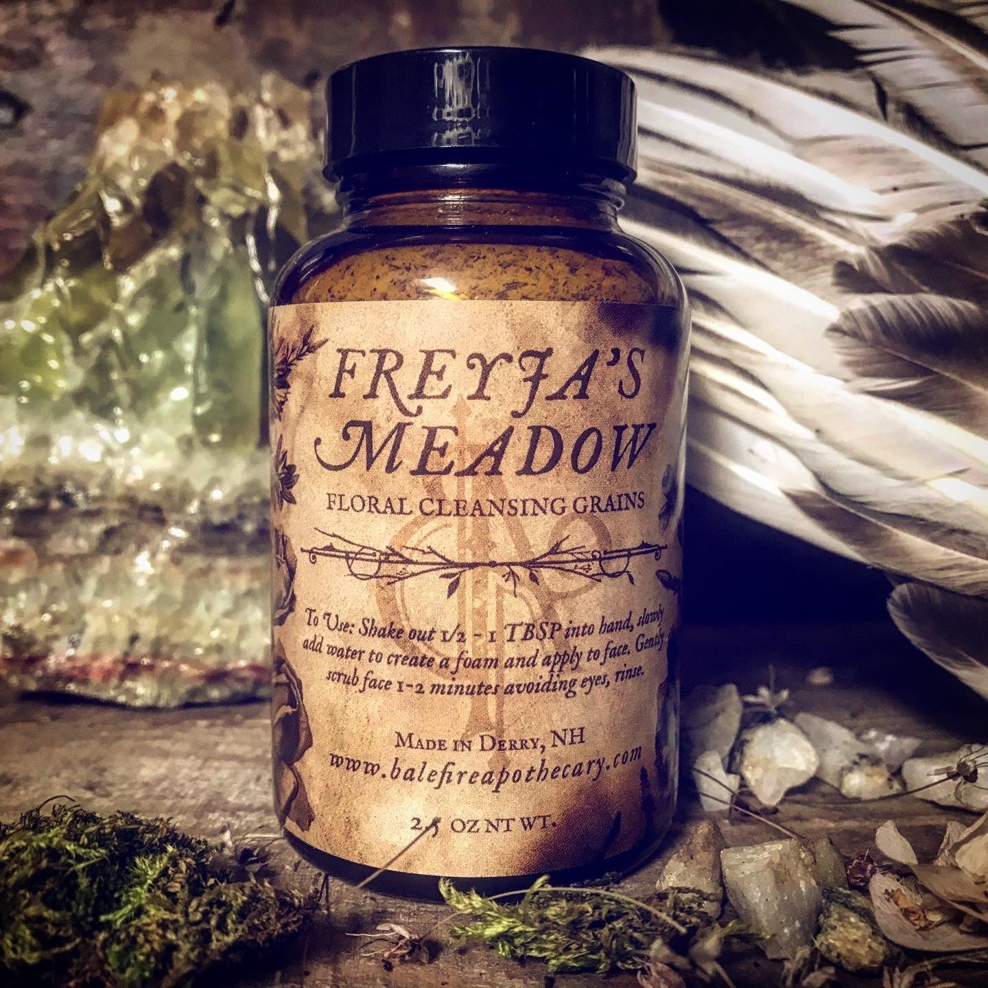 Freyja's Meadow Floral Cleansing Grains