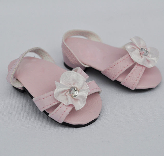 "18"" Doll Kitten Heel Sandals"