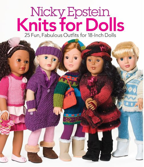 Nicky Epstein's Knits for Dolls Book
