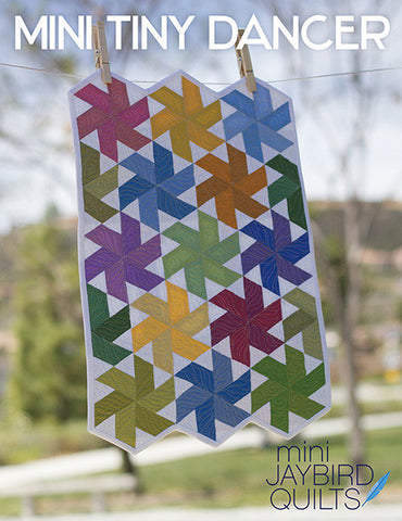 Mini Tiny Dancer Quilt Pattern