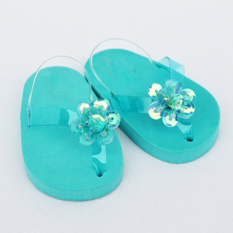 "18"" Doll Sequin Sandals"