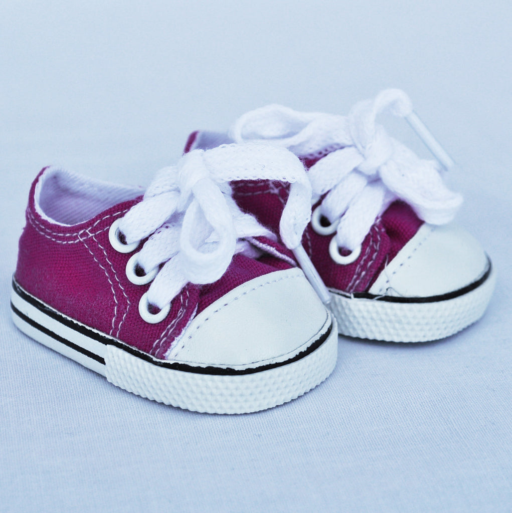 "18"" Doll Canvas Sneakers"