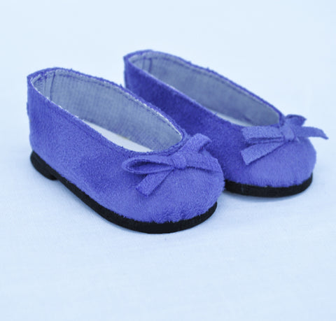 "18"" Doll Suede Ballet Flats"