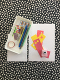Art kit - 10 greeting cards with envelopes