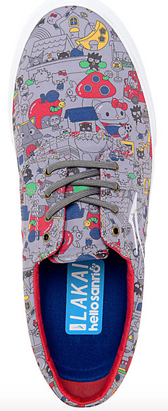 Zapatilla Lakai - HELLO SANRIO Camby Grey Canvas / MS4160225A03/F0100