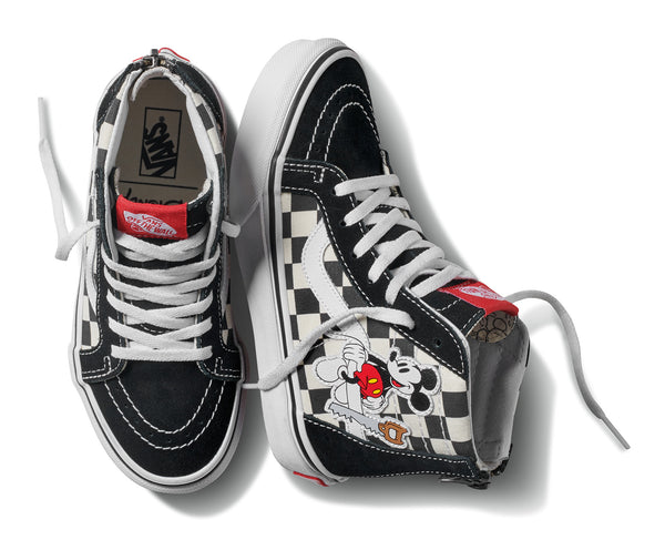 Vans Zapatilla Sk8-Hi Zip Disney Mickey Mouse Checkerboard - VN0A3276UT2