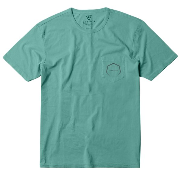 Vissla Polo Monsoon - M423FMON-GREEN