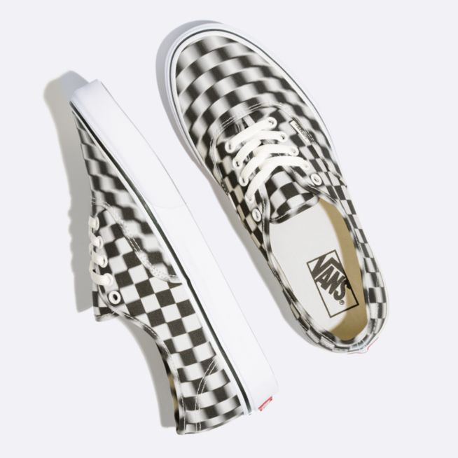 Vans Zapatilla Authentic Blur Checker - VN0A38EMVJM