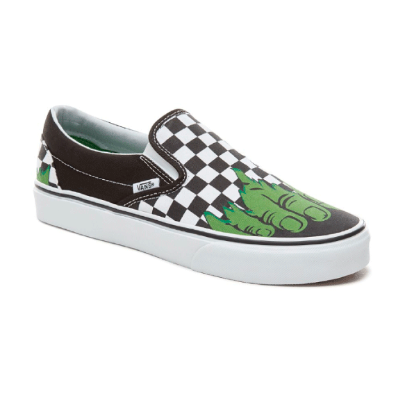 Vans x Marvel Zapatilla Slip On Hulk - VN0A38F7U44