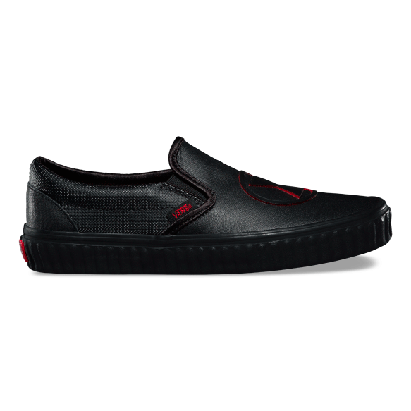 Vans x Marvel Zapatilla Slip On Black Widow - VN0A38F7U7K