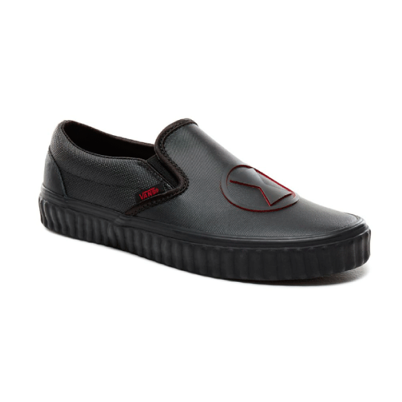 9d2a769c218b3d Vans x Marvel Zapatilla Slip On Black Widow - VN0A38F7U7K