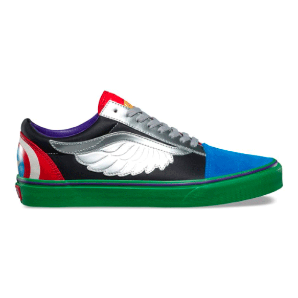Vans x Marvel Zapatilla Old Skool Avengers Kids - VN0A38HBU3V