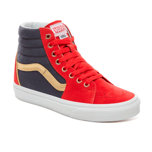 Vans x Marvel Zapatilla Sk8-Hi Captain Marvel - VN0A38GEUBI
