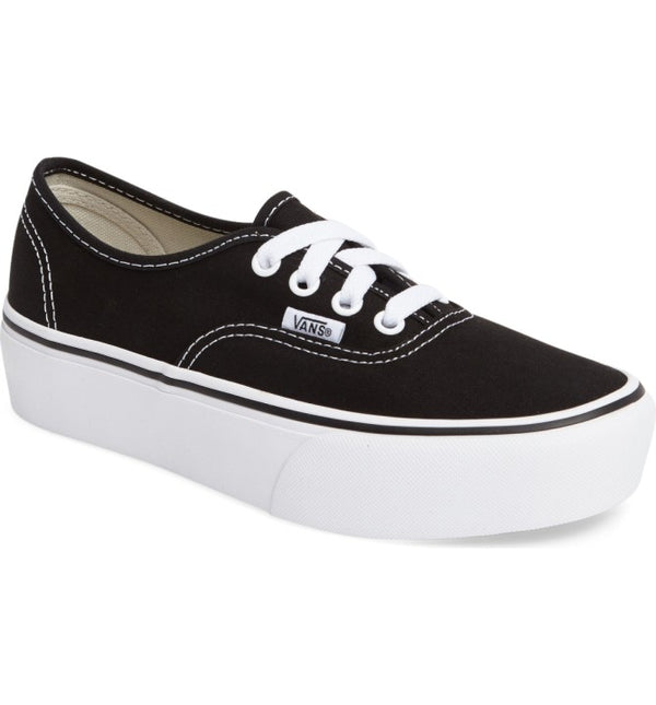 Vans Zapatilla Authentic Platform - VN0A3AV8BLK