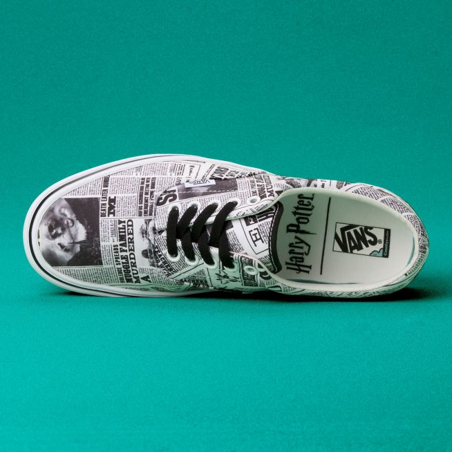 Vans x Harry Potter Zapatilla Era ComfyCush Daily Prophet - VN0A3WM9V9T
