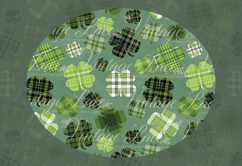 Plaid Shamrocks