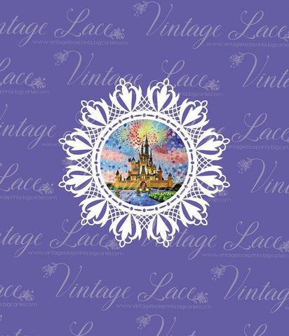 Retail- Magical Mosaic lilac panel