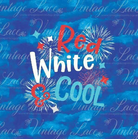Retail  Red White and Cool panel