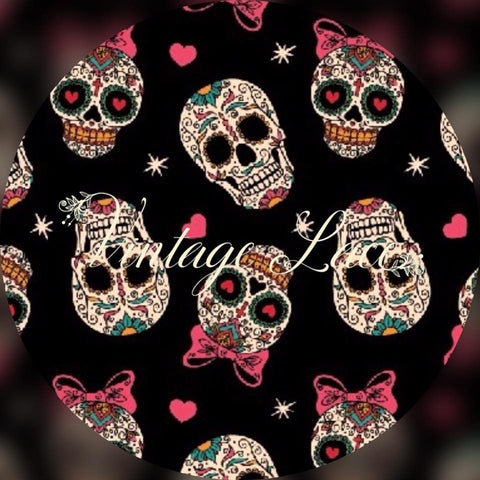 Retail - Black Sugar Skulls