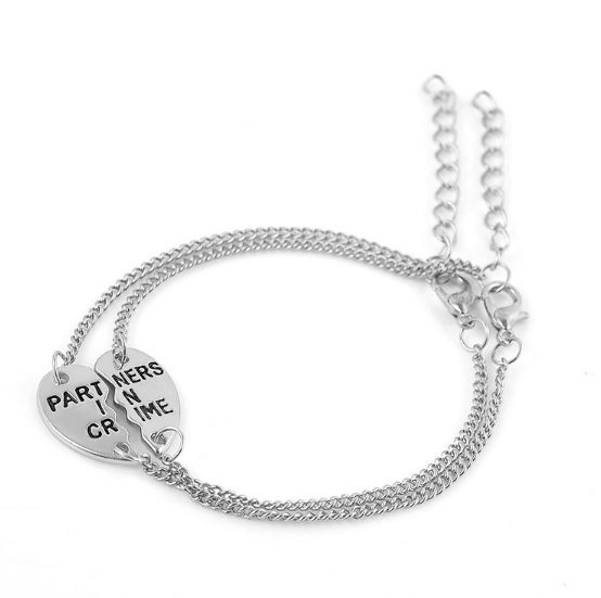 Partners In Crime Couples Bracelet