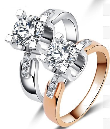 Silver or Rose Gold Ring