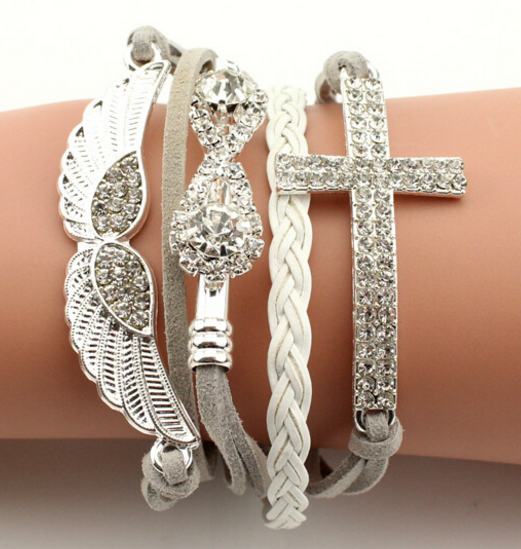 Angel Cross Bracelet