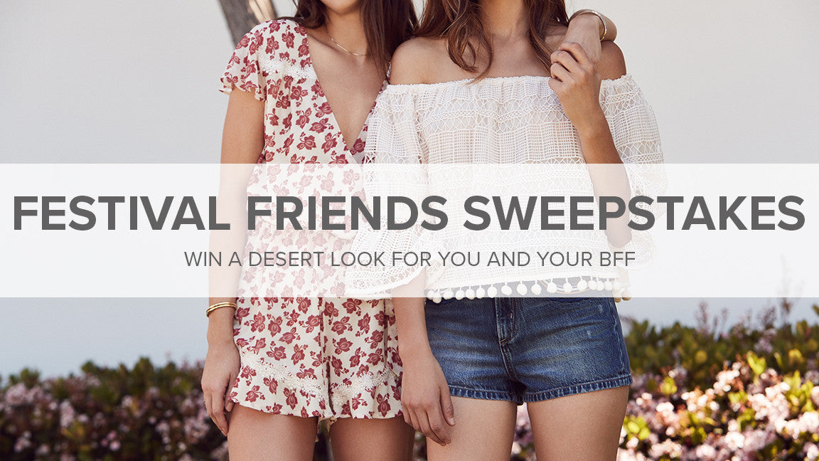 Festival Friends Sweepstakes