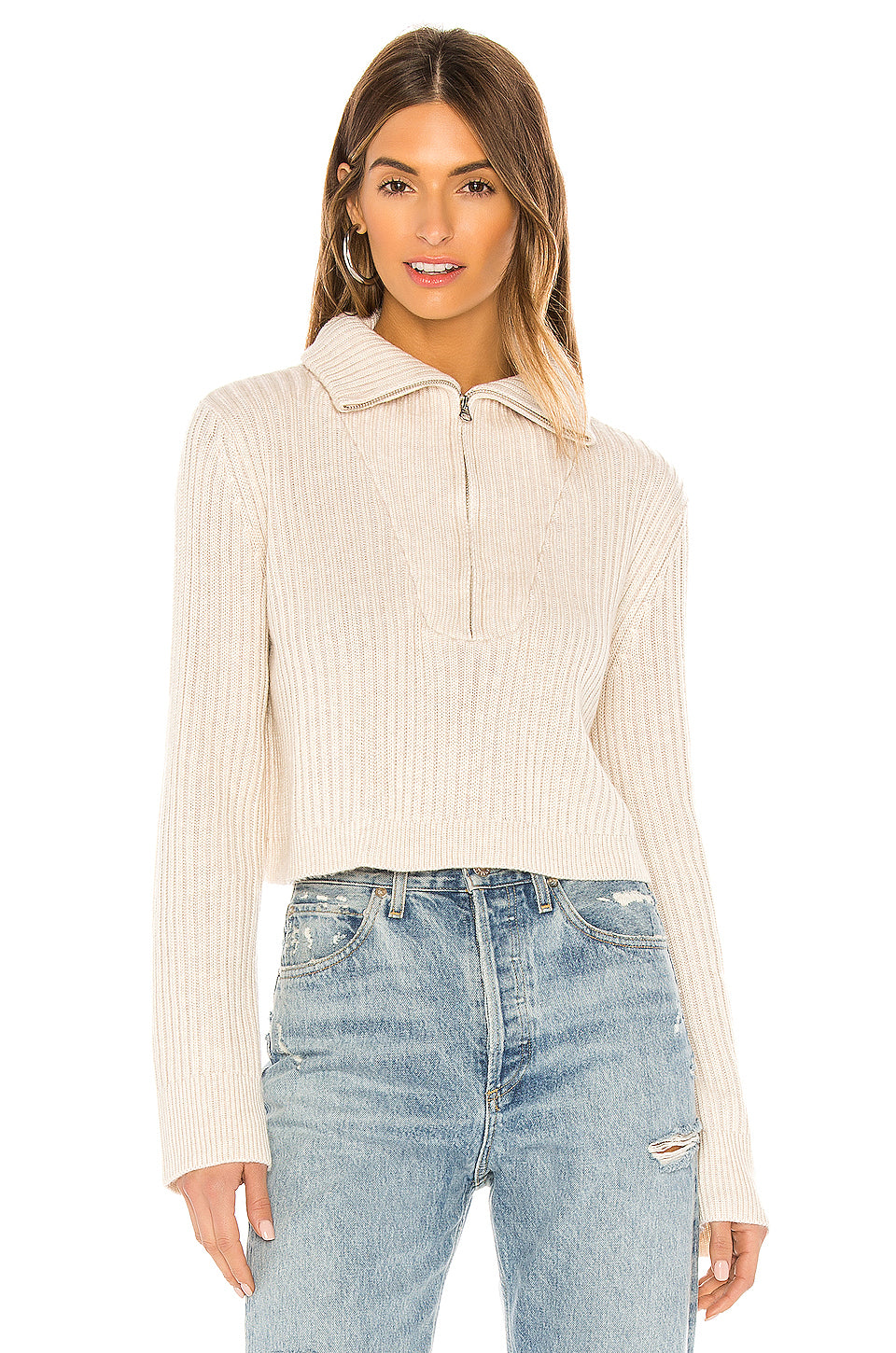 Lovelle Zip Up Sweater