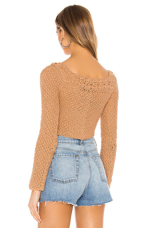 Zenith Crochet Sweater