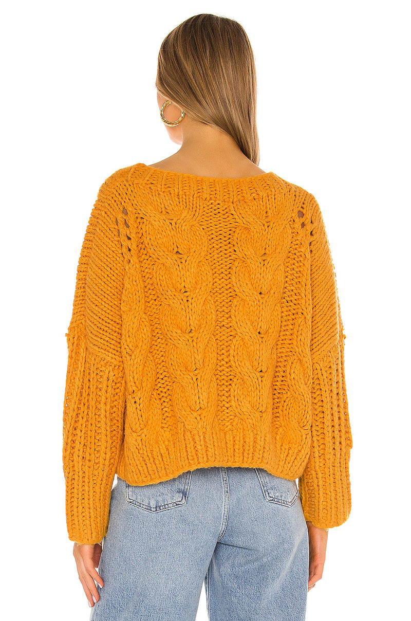 Paola Cable Sweater