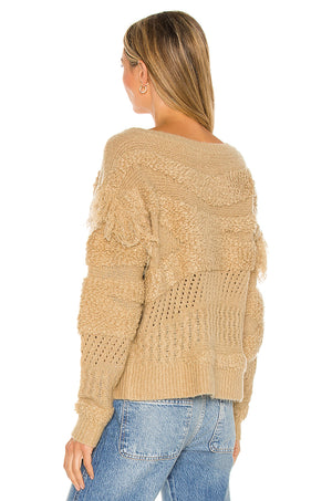 Adrian Fringe Sweater