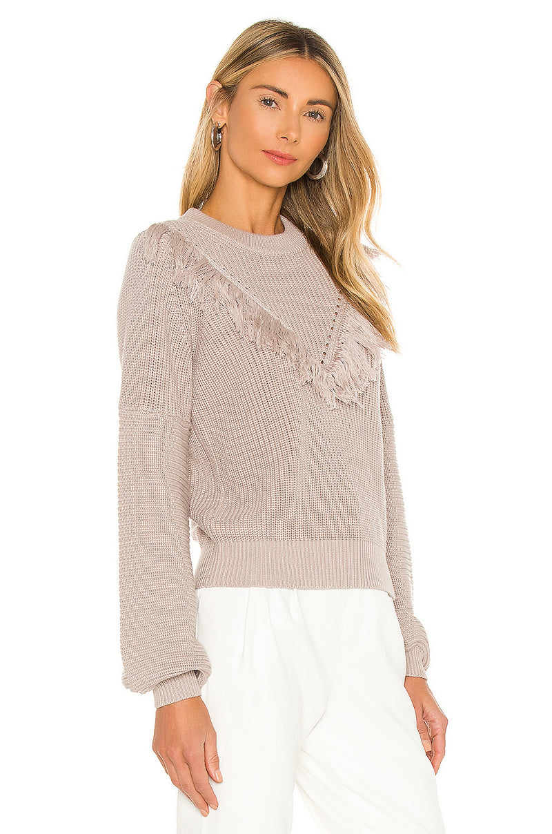 Samara Fringe Sweater