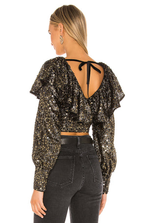Presley Sequin Top