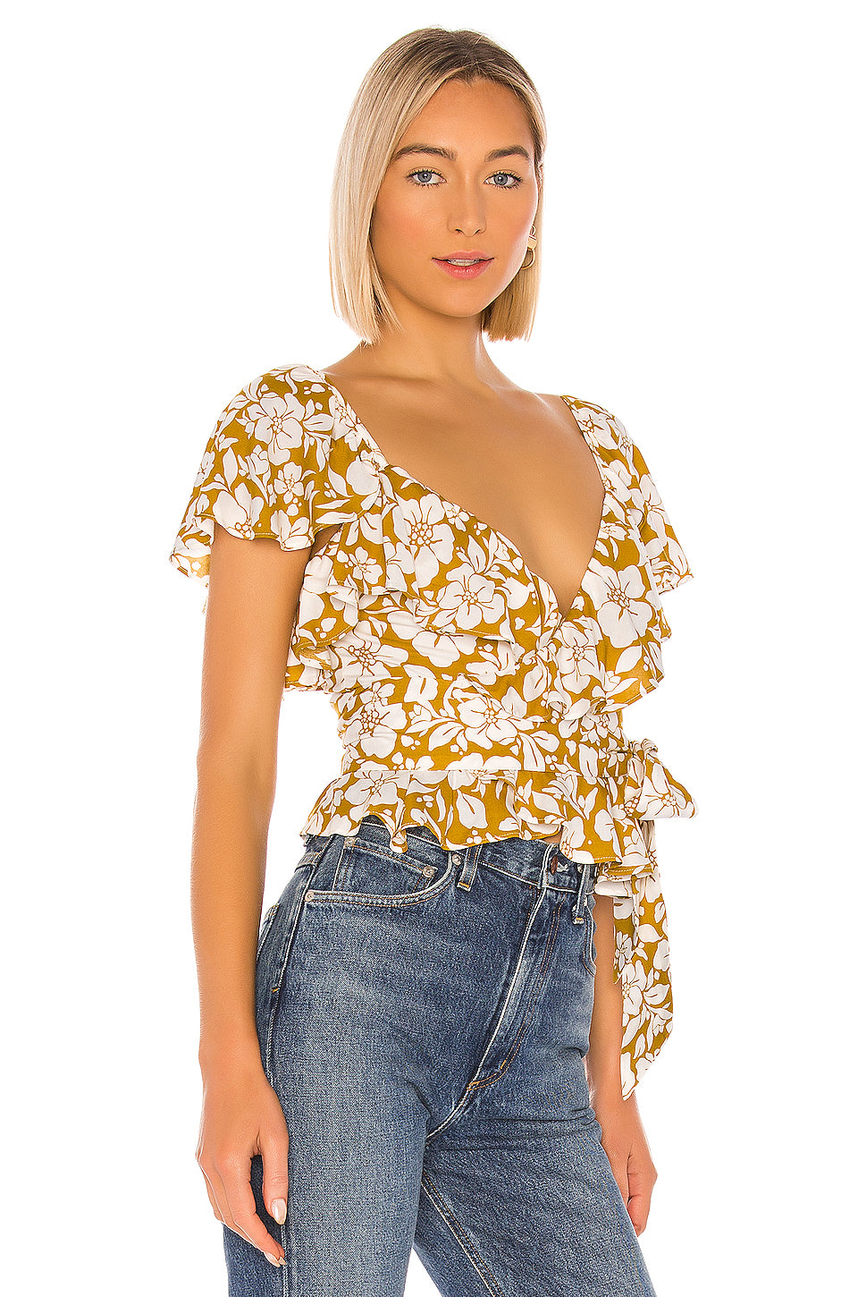 Wiley Wrap Top