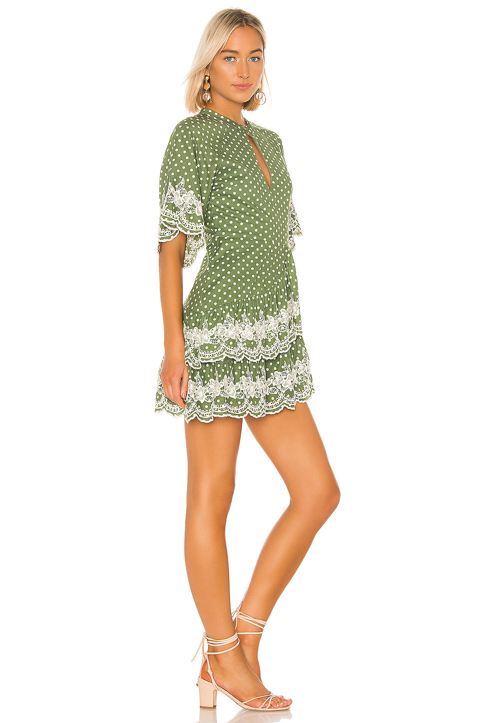 Alma Embroidered Dress