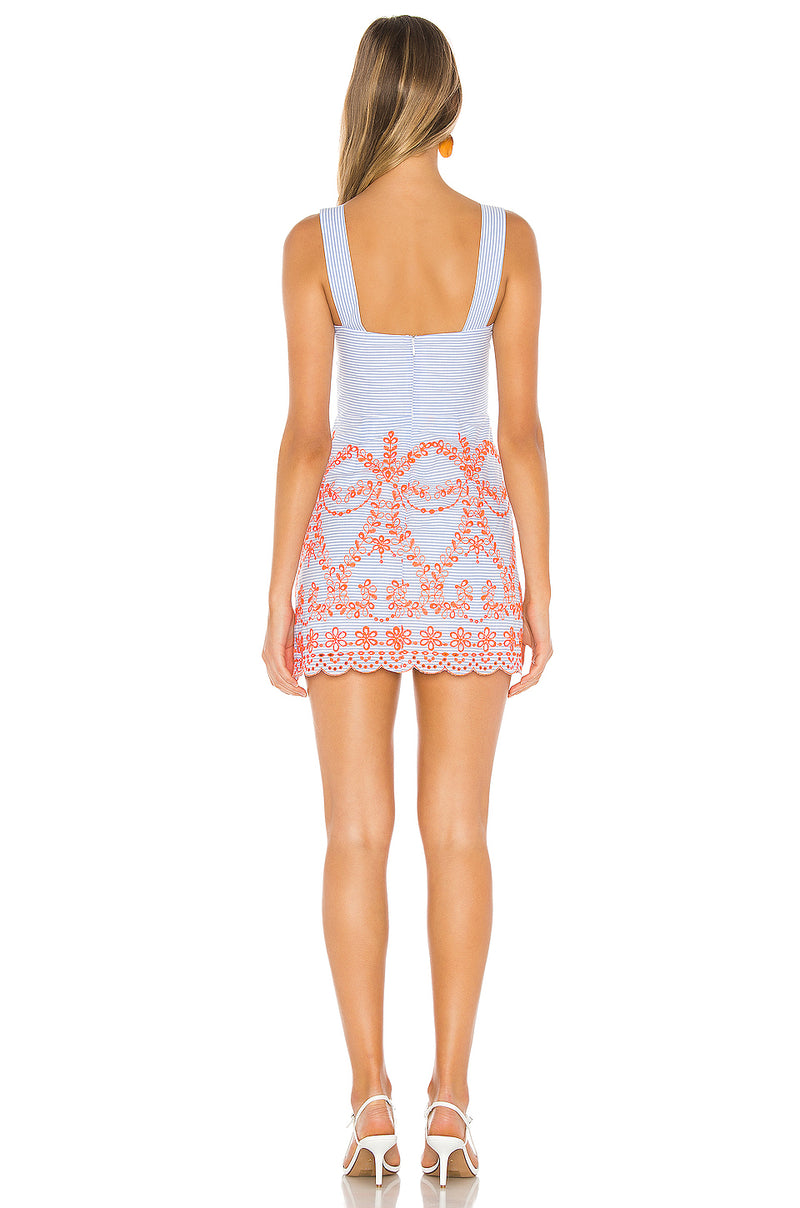 Ari Embroidered Dress