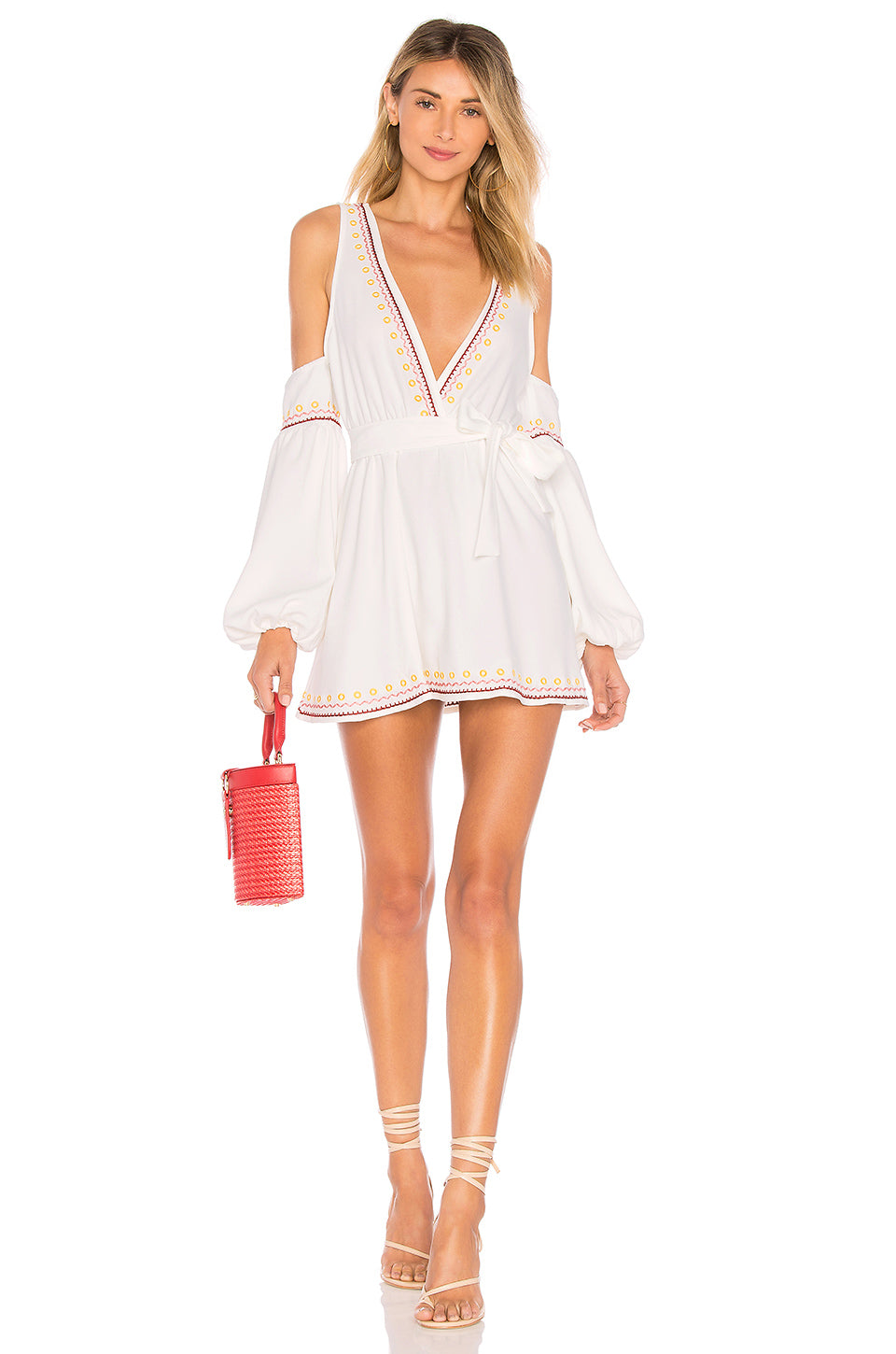 Barney Dress in Ivory. - size M (also in L,S,XS) Tularosa