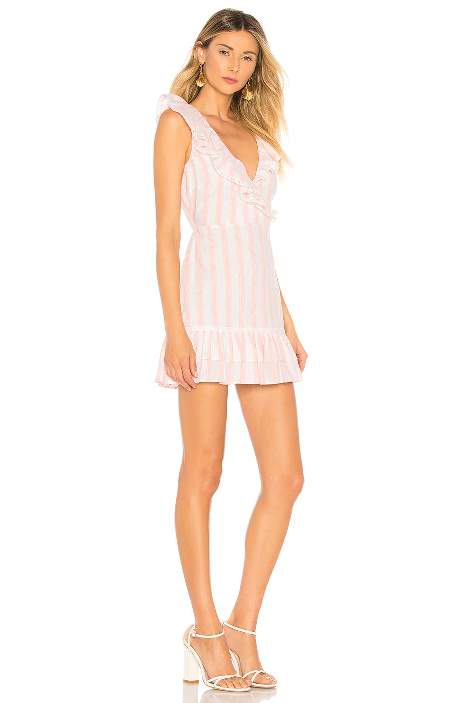 Bennet Dress in Pink. - size L (also in M,S,XS,XXS) Tularosa