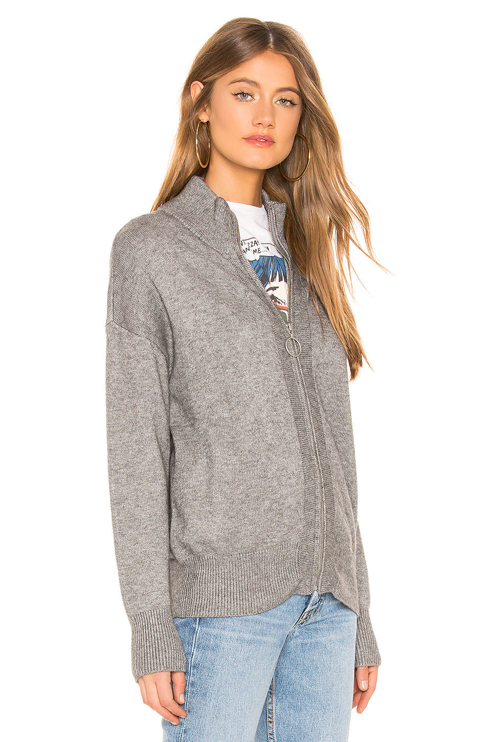 Bronx Zip Up Sweater