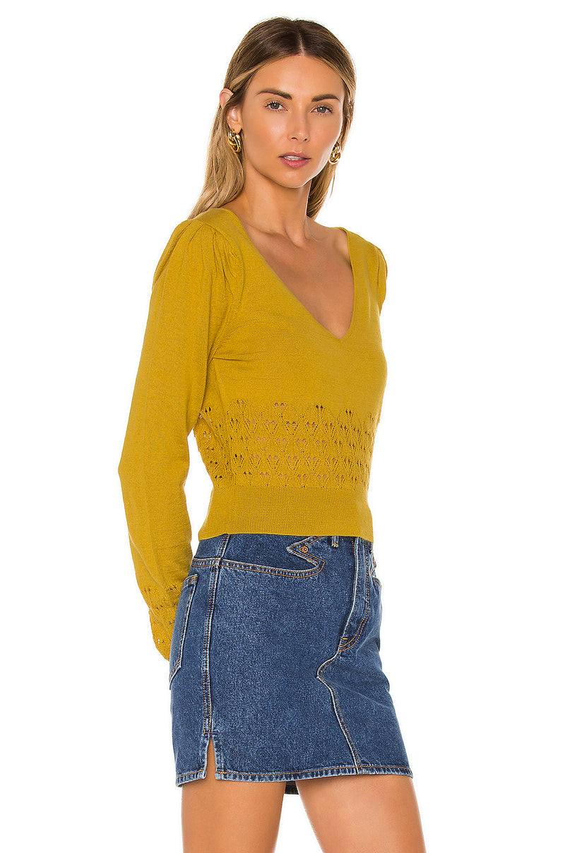 Calypso V Neck Sweater