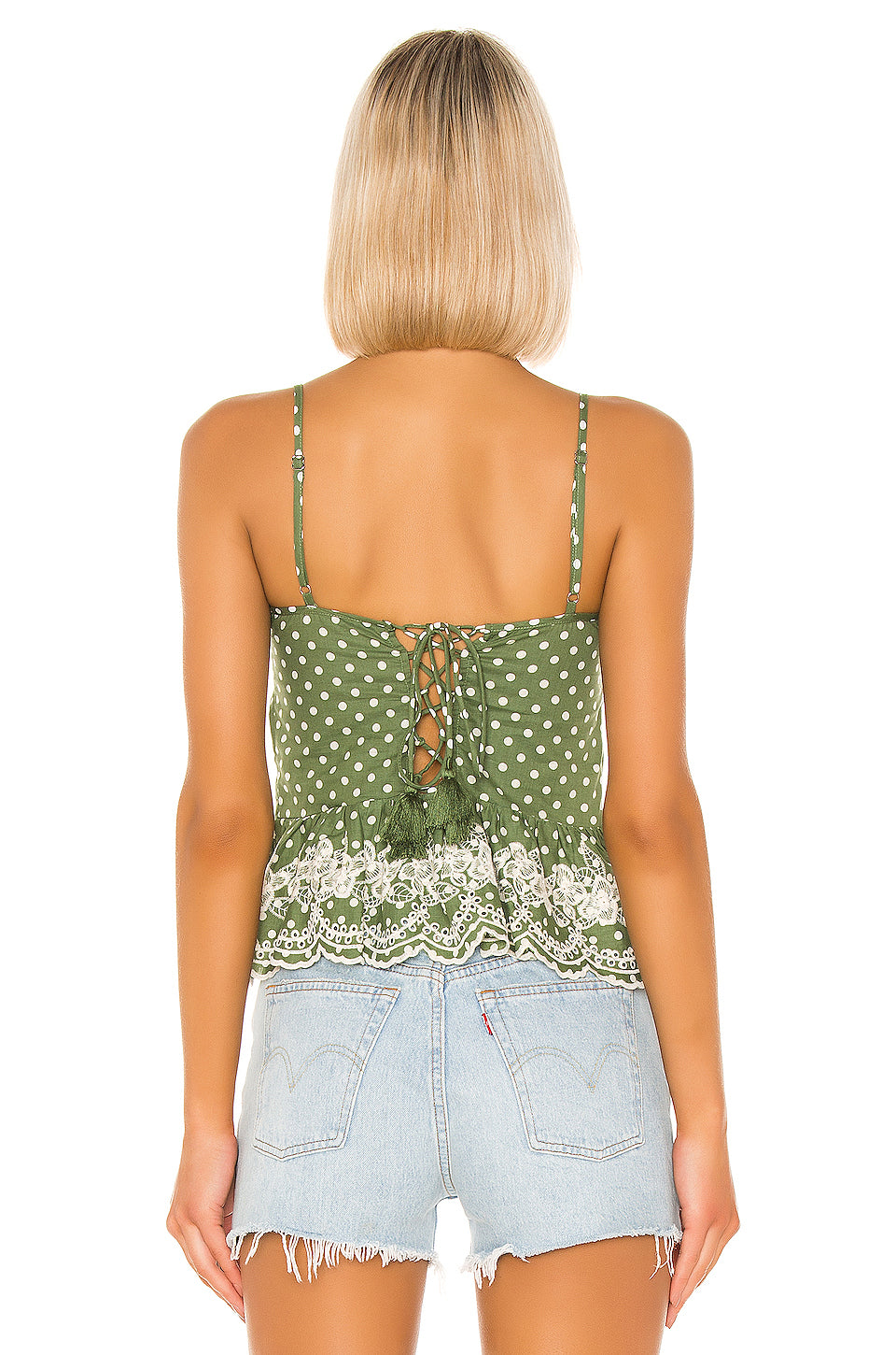 Campbell Embroidered Top