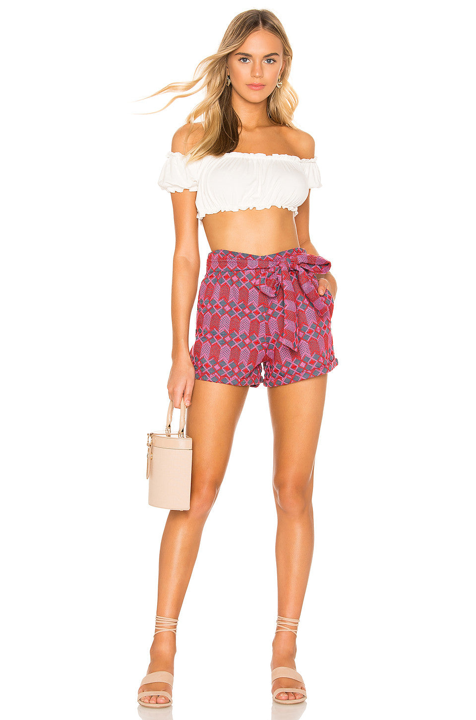 Claire Embroidered Short