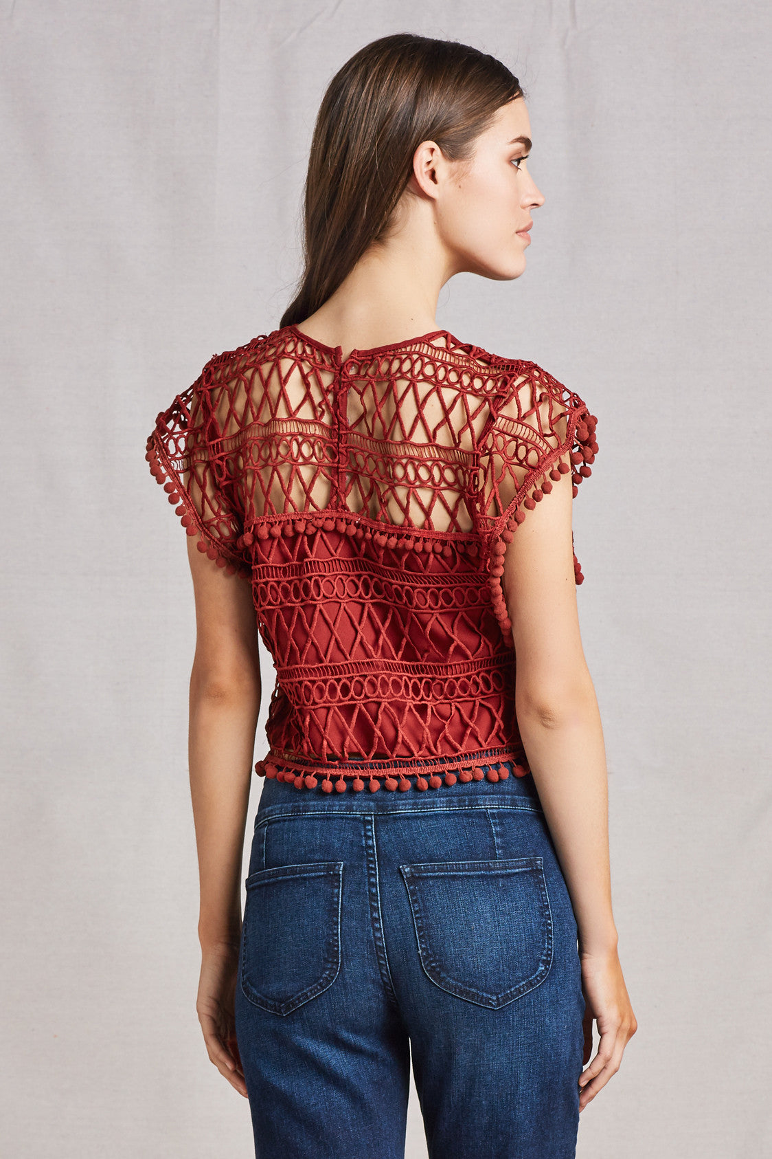 Clayton Lace Crop Top