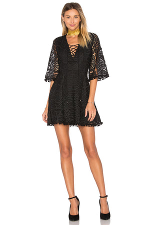 Coal Lace Dress