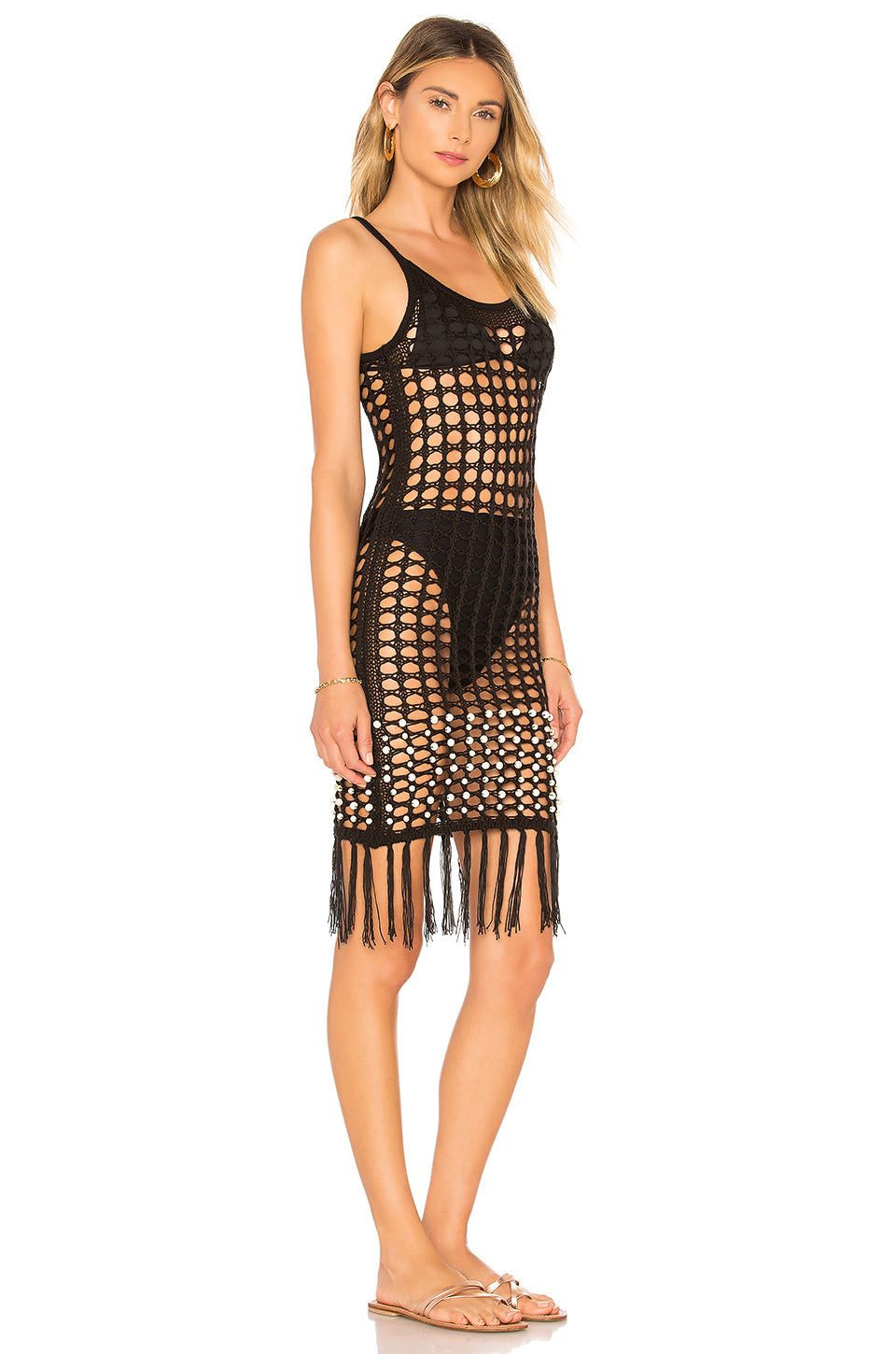 Crochet Net Slip Dress