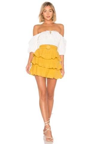 Maida Ruffle Skirt