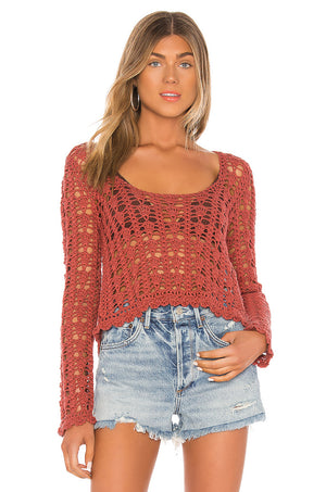 Gigi Crochet Sweater